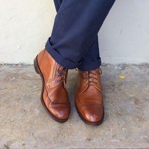 Allen Edmonds Dalton Wingtip Dress Boots